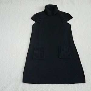 Calvin Klein charcoal knit sweater dress